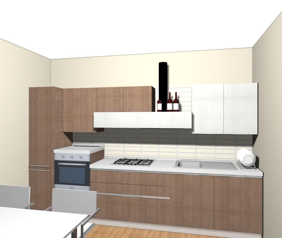Veneta cucine i costi di una composizione del modello gretha start time senza maniglia for Quanto costa una cucina scavolini