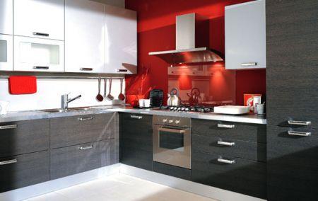 Beautiful Rovere Grigio Cucina Photos - Embercreative.us ...