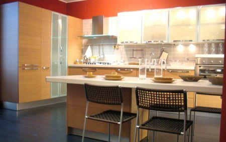 Extra rovere chiaro veneta cucine non solo mobili - Cucine in rovere chiaro ...