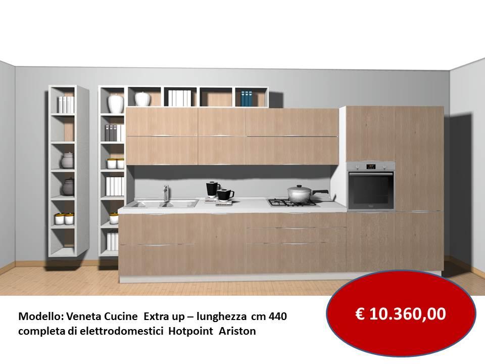 prezzo Veneta cucine modello extra con libreria